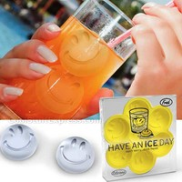 Have An Ice Day Smiley Face Ice Tray