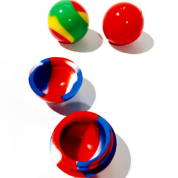 "Silicone Ball Container (1.25"")"