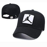 JORDAN Fashion Women Men Embroidery Sports Sun Hat Baseball Cap Hat Black