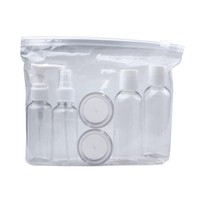 Portable Transparent Cosmetic Bottles  6Pc/Set