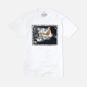 All Hell T Shirt White