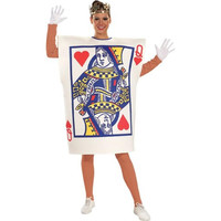 Rubie's Costume Co Womens Queen of Hearts Card Halloween Party Costume Set
