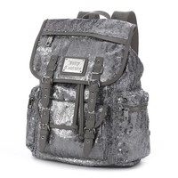 Juicy Couture Sequin Backpack (Grey)
