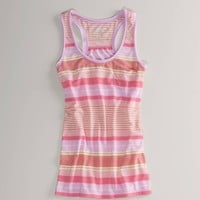 AE Striped Pocket Tank - American Eagle Outfitters
