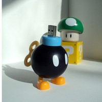 4GB BobOmb from Nintendo Super Mario Bros USB Flash by Monstoes