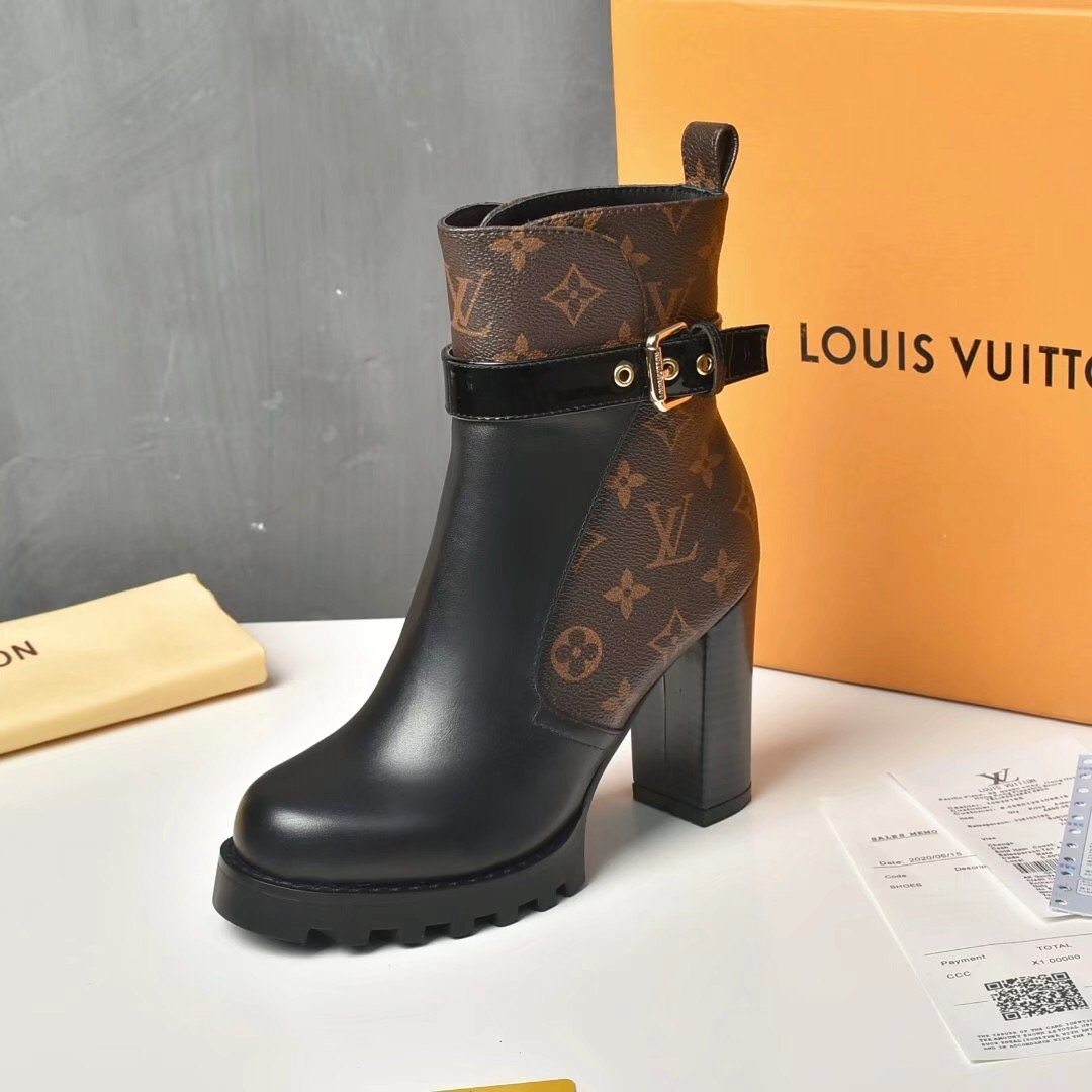 Image of Louis Vuitton LV Women's Leather ankle boot