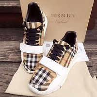 Burberry Women Fashion Sneakers Sport Shoes