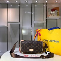 LV Louis Vuitton WOMEN'S MONOGRAM CANVAS INCLINED SHOULDER BAG