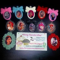 Disney Princess Punker Cameos from CherryKreations21