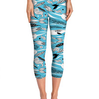 Narwhals on Yoga Pants