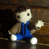 Doctor Who the Sackboy by MiCrochets on Etsy