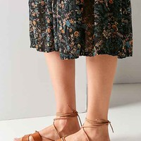 Sophie Leather Tie Sandal