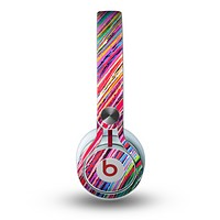 The Abstract Color Strokes Skin for the Beats by Dre Mixr Headphones