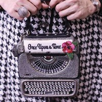Just My Type Handbag | Typewriter Purse