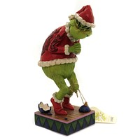 Jim Shore Sneaky Grinch Hands Clenched Dr Seuss Christmas - 6006566