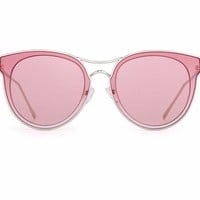 Clear Cat Eye Sunglasses