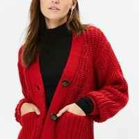LA Hearts Wayfarer Chunky Knit Cardigan at PacSun.com
