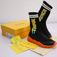 Fendi Sock Runner Sneakers 7E10884SWF101J