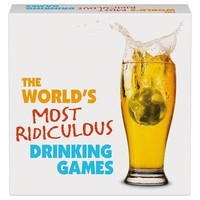 The World's Most Ridiculous Drinking Games, Wine, Beer & Spirits by Kheper Games