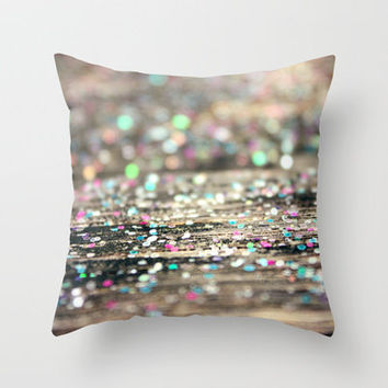 Afterparty Throw Pillow by Beth - Paper Angels Photography   Society6