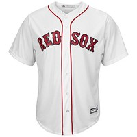 Boston Red Sox Home White Cool Base Jersey