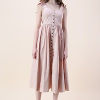 Dashing Darling Cami Dress in Light Pink