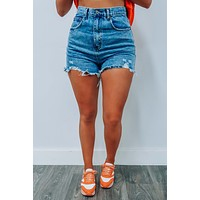 Canyon Road Shorts: Denim
