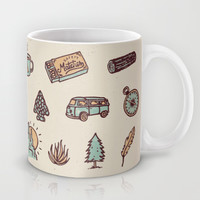 Lets Go Camping Mug by WEAREYAWN