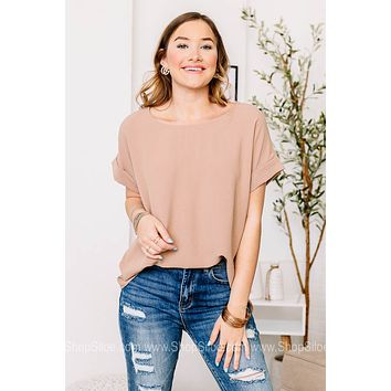 Thinking Out Of The Box Basic Top | Latte