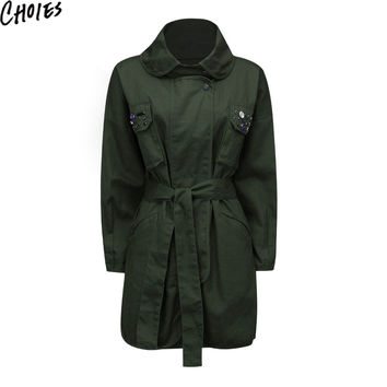 Casual Longline Coat
