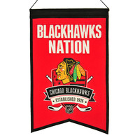 Chicago Blackhawks NHL Nations Banner (15x20)