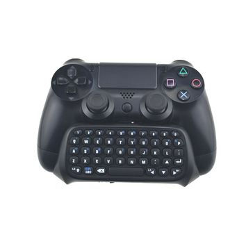 Mini Bluetooth Wireless Keyboard Joystick Chatpad for Sony Playstation 4 For PS4 Controller For PS4 Slim For PS4 PRO Gamepad