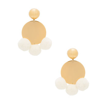 Elizabeth and James Stevie Earrings in Yellow Gold   REVOLVE