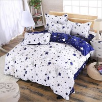 Stars On Bed Duvet Cover Bedding Set - More Variations