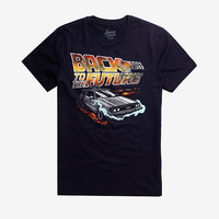 Back To The Future Time Machine T-Shirt