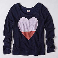 Anthropologie - Colorblocked Heart Pullover