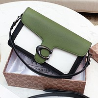 COACH High Quality Women Shopping Bag Leather Handbag Tote Shoulder Bag Crossbody Satchel