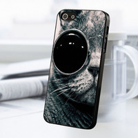Cat With Sun Glass iPhone 5 Or 5S Case