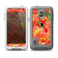 The Red and Yellow Watercolor Flowers Skin Samsung Galaxy S5 frē LifeProof Case