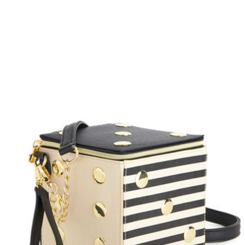 Betsey Johnson Quirky Betsey Johnson Roll with the Poshes Bag