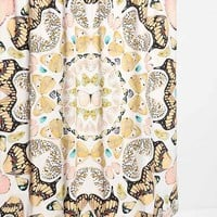 Plum & Bow Butterfly Shower Curtain- Multi One