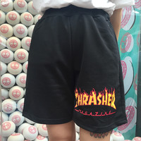 thrasher men and women shorts