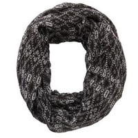 Geo Diamond Infinity Scarf by Charlotte Russe