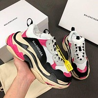 Balenciaga Triple-S Xia Gu jogging shoes-8