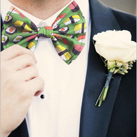 Sushi Sashimi Bow Tie bowties for Foodies