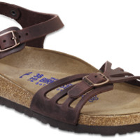 Bali Soft Footbed Habana Oiled Leather Sandals | Birkenstock USA Official Site