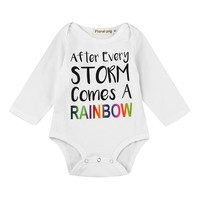 Newborn Baby Boys Girls Romper Letter Bowknot Print Romper Jumpsuit Outfits Baby Clothes drop ship