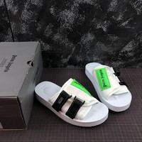 Palm Angels White Suicoke Sliders Sandals Slippers Summer Shoes Flip Flop