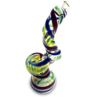 Wrap Color Glass Bubbler