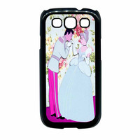 Cinderella Floral Party Samsung Galaxy S3 Case
